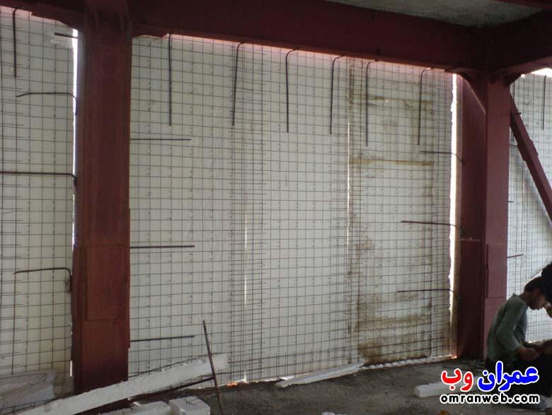 تری دی پانل دیواری اسکلت فلزی