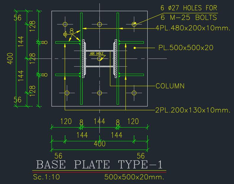 نقشخ خوانی ساختمان فلزی